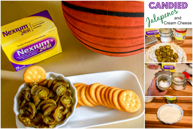 Candied Jalapeno and Cream Cheese Spread