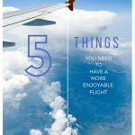 5 Things You NEED to Have a More Enjoyable Flight