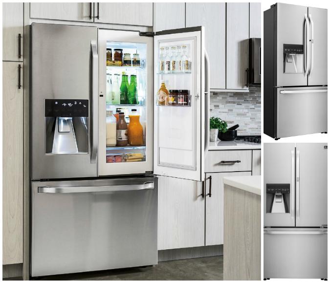 Earth Day Friendly LG Refrigerator