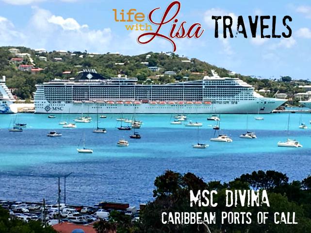 MSC Divina Caribbean Ports of Call