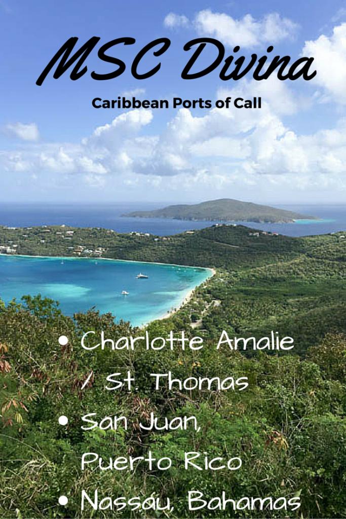 MSC Divina Ports of Call Caribbean