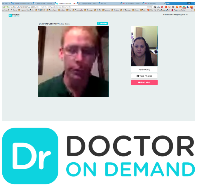 Save 10 dollars on Doctor on Demand