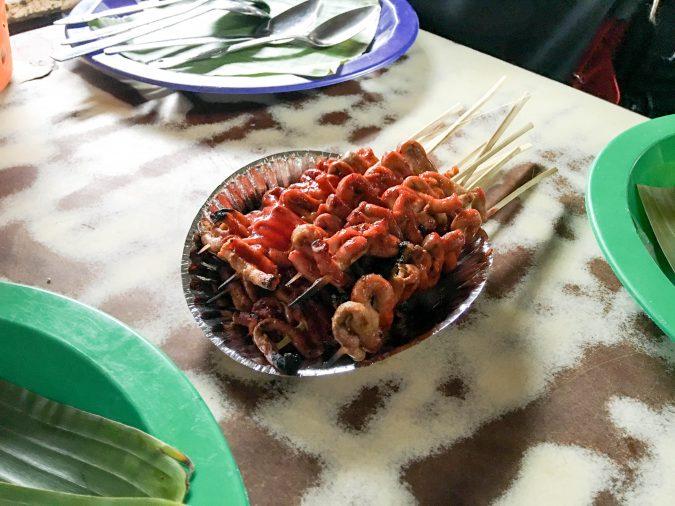 Chicken Intestines from Vigan City