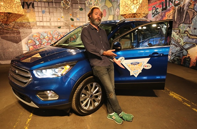 Ford teams up with puzzle master Victor Blake for the worldÕs first Escape the Room drive experience having players discover a whole new side of New York in the 2017 Ford Escape.(Ed Rieker/AP Images for Ford Automotive)
