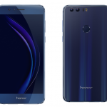 The Blue Sapphire Huawei Honor 8 Unlocked Smartphone from Best Buy