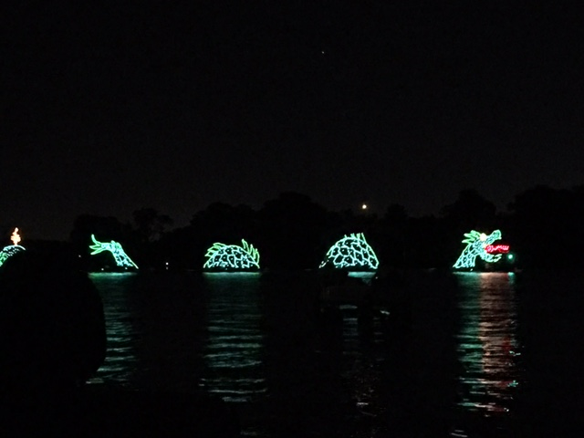 electric water parade disney