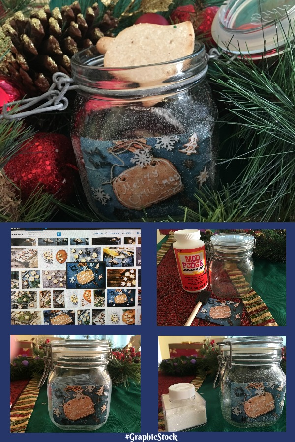 diy christmas cookie gift