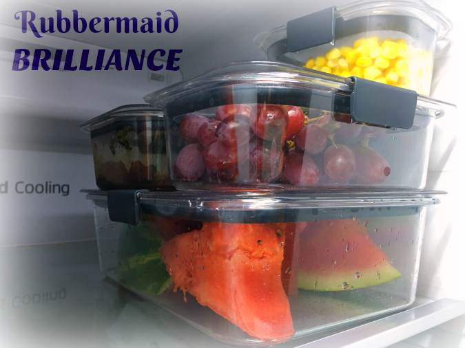 Rubbermaid Brilliance Food Storage Container Set 22 Piece Clear Fascinating I Can See Clearly NowRubbermaid BRILLIANCE Life With Lisa